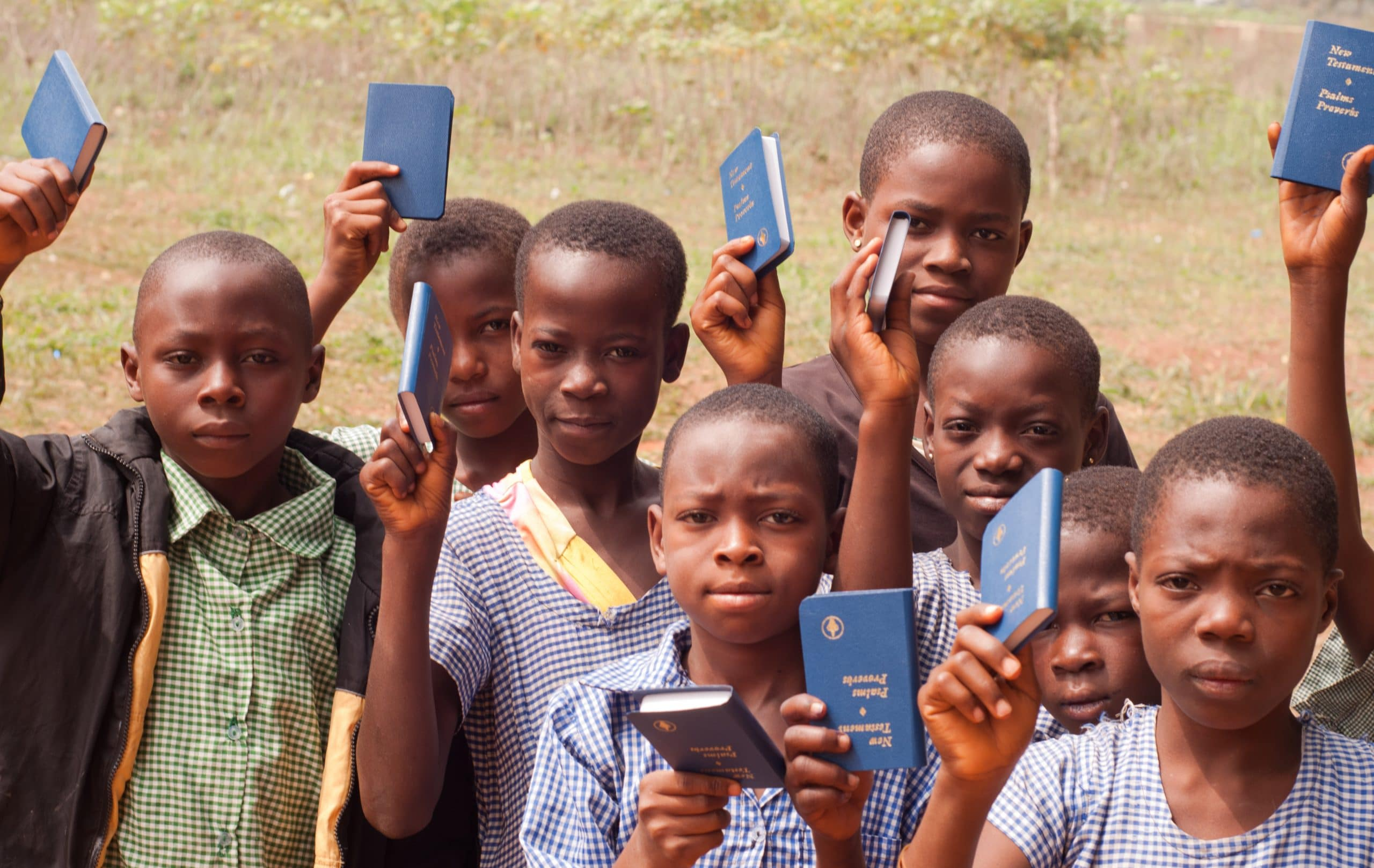 children with bibles